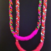 tri-braid neck lei's © Lisa Hilli