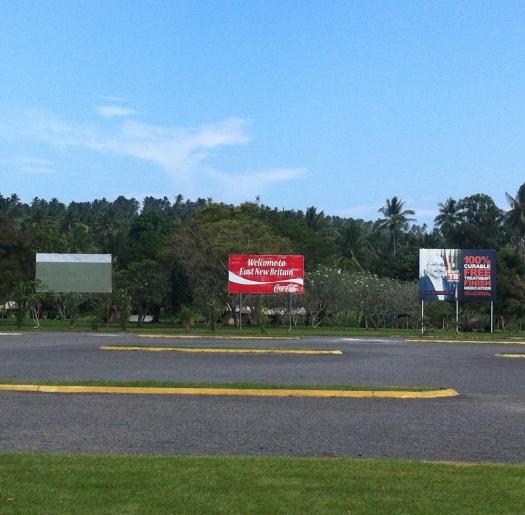 Tokua Airport Carpark, Rabaul