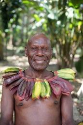 Warmar Tonga wearing a Pur